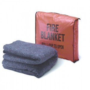 Fire Blanket W/ Case 62x80